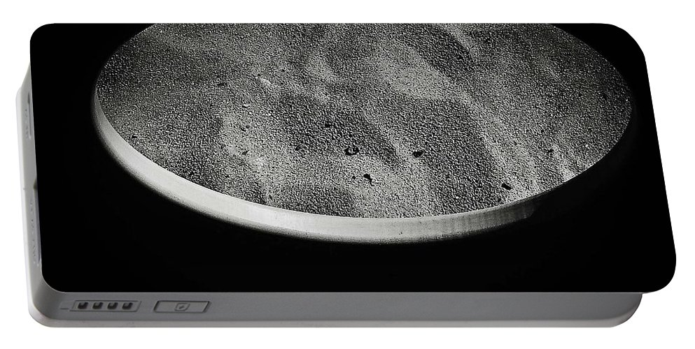 Abstract Portable Battery Charger featuring the photograph Shape No.10 by Fei A
