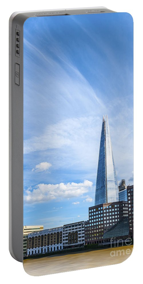 Architecture Portable Battery Charger featuring the photograph Shard by Svetlana Sewell
