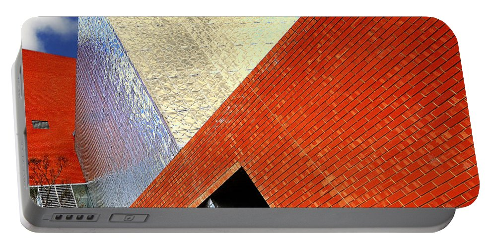 Architecture Portable Battery Charger featuring the photograph Sharps by Wayne Sherriff