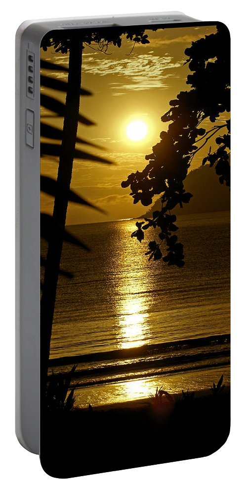 Landscapes Portable Battery Charger featuring the photograph Shimmer by Holly Kempe