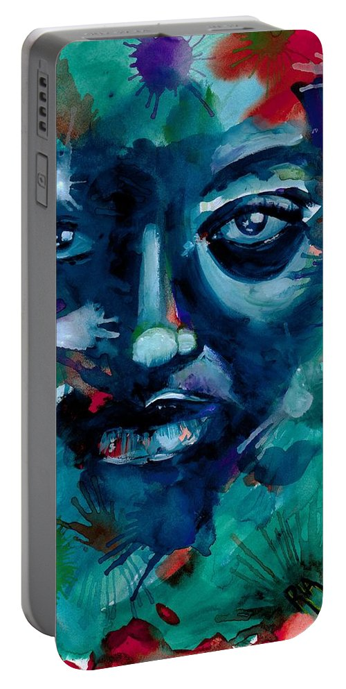 Painting Portable Battery Charger featuring the photograph Show me your true colors by Artist RiA