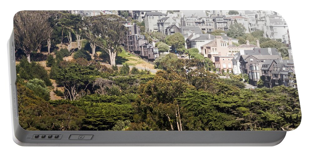 Houses Portable Battery Charger featuring the photograph Side By Side by Kate Brown