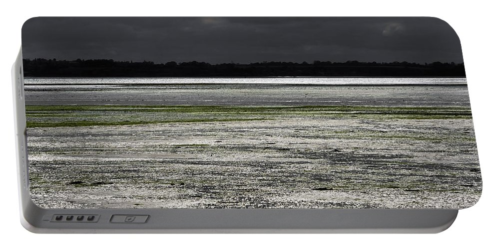 Bay Portable Battery Charger featuring the photograph Silver Breeze by Svetlana Sewell