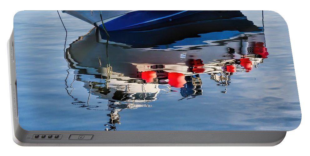 Water Portable Battery Charger featuring the photograph Silver Spirit Reflections by Susie Peek