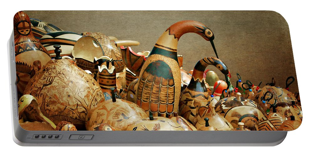 Gourds Portable Battery Charger featuring the photograph Simply Gourdgeous by Nikolyn McDonald