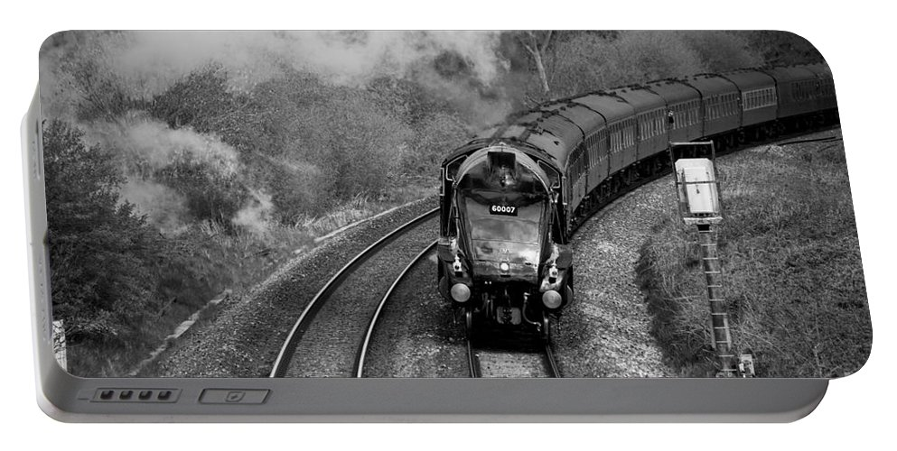 Sir Portable Battery Charger featuring the photograph Sir Nige by Rob Hawkins