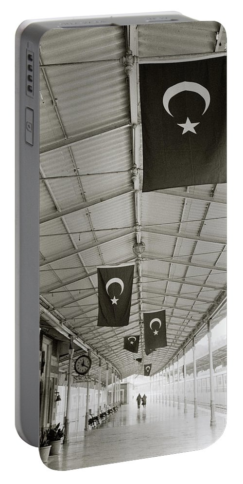 Istanbul Portable Battery Charger featuring the photograph Sirkeci by Shaun Higson