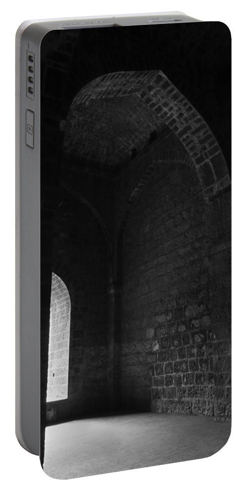 Archaic Portable Battery Charger featuring the photograph Skc 3141 Archaic Arches by Sunil Kapadia