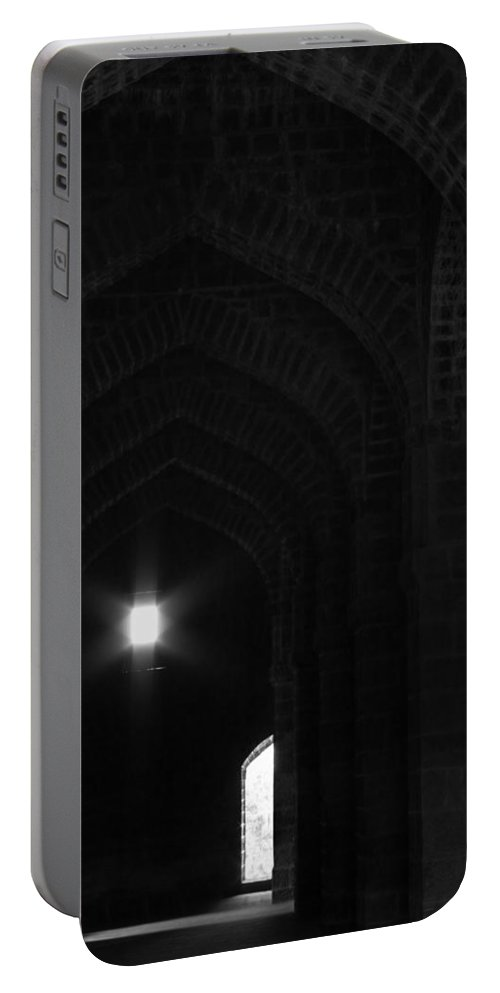 Arches Portable Battery Charger featuring the photograph Skc 3150 The Arches Of Age by Sunil Kapadia