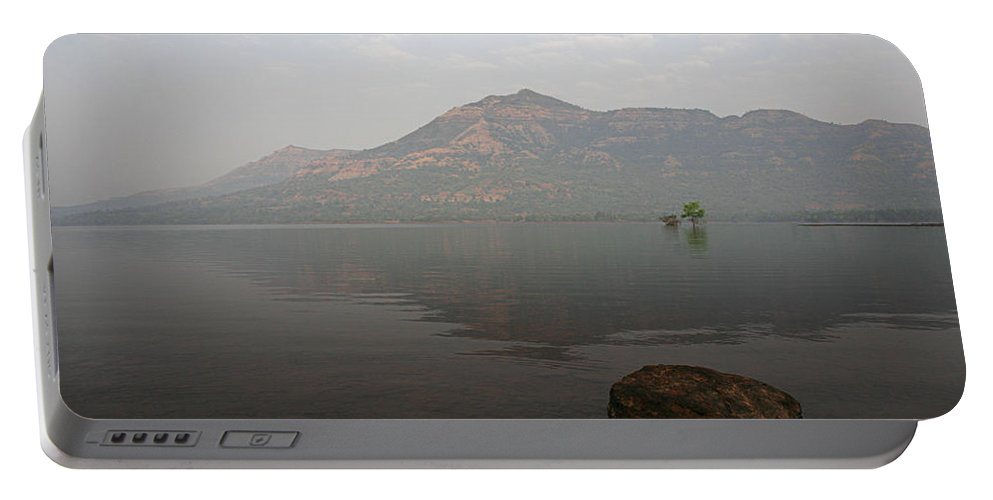 Tranquil Portable Battery Charger featuring the photograph Skc 0084 Rock Show by Sunil Kapadia