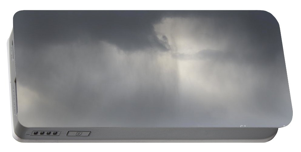 Skylines Portable Battery Charger featuring the photograph Skylines by Brian Boyle