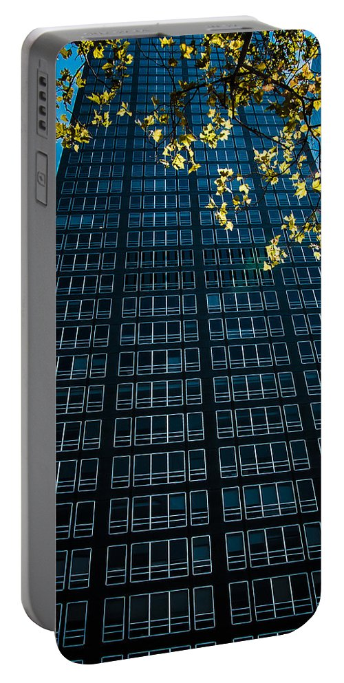 New York City Portable Battery Charger featuring the photograph Skyscraper by Amel Dizdarevic