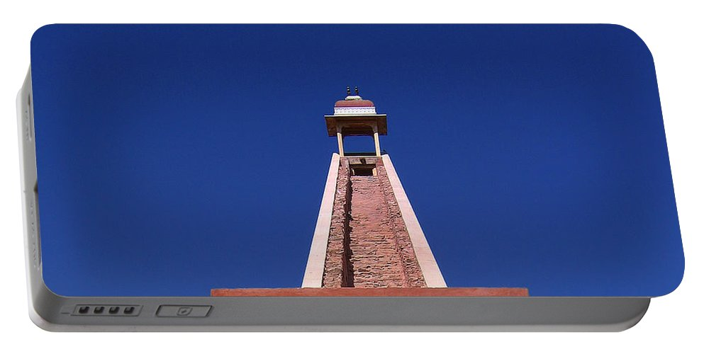 India Portable Battery Charger featuring the photograph Skyway by A Rey
