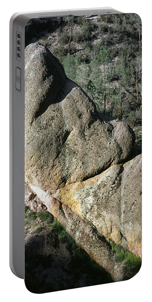 Sleeping Giant Portable Battery Charger featuring the photograph 1b6434-sleeping Giant Rock by Ed Cooper Photography