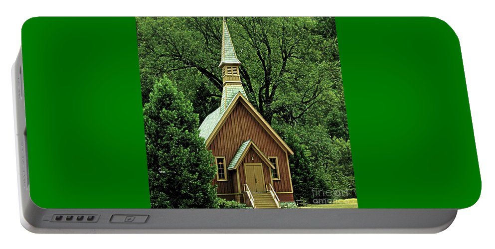 Small Portable Battery Charger featuring the photograph Small Chapel by Kathleen Struckle