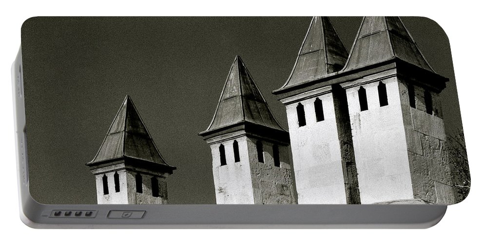 Istanbul Portable Battery Charger featuring the photograph The Small Minarets by Shaun Higson