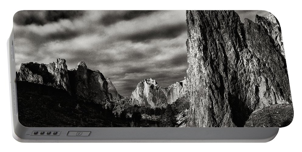 Smith Rock Portable Battery Charger featuring the photograph Smith Rock State Park 1 by Robert Woodward