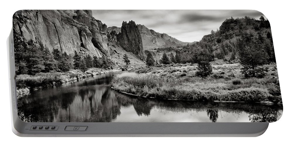 Smith Rock Portable Battery Charger featuring the photograph Smith Rock State Park 2 by Robert Woodward