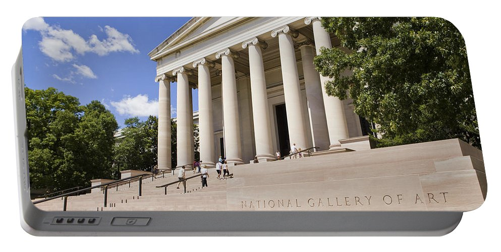 America Portable Battery Charger featuring the photograph Smithsonian National Gallery Of Art by B Christopher