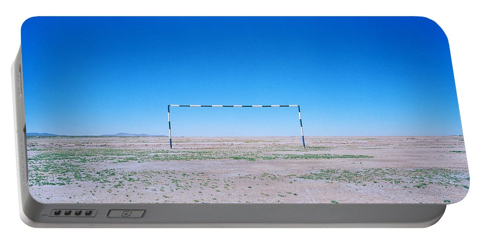 Inspiration Portable Battery Charger featuring the photograph Field Of Dreams by Shaun Higson