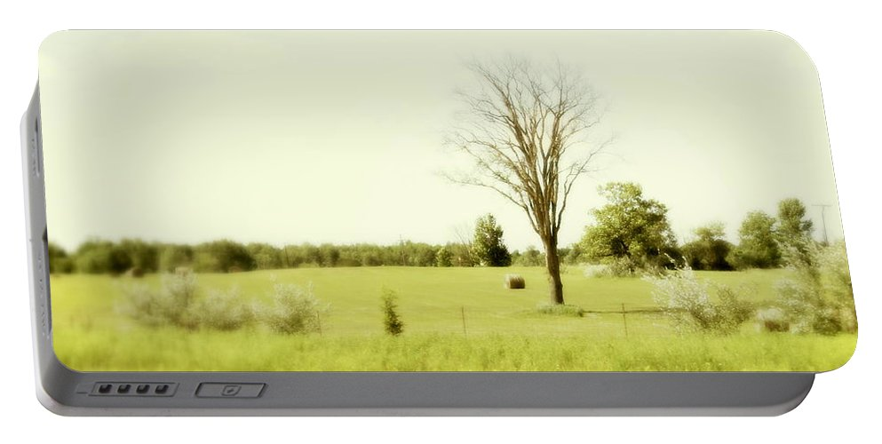 Trees Portable Battery Charger featuring the photograph Solitude by Marysue Ryan
