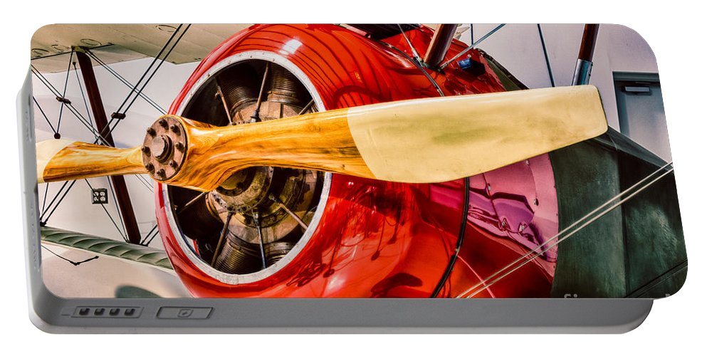 Aircraft Portable Battery Charger featuring the photograph Sopwith Camel by Inge Johnsson