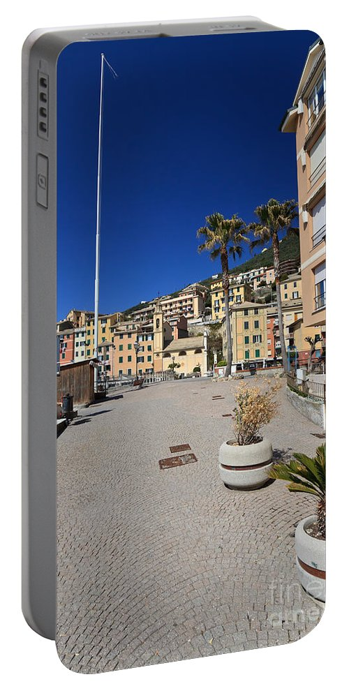Ancient Portable Battery Charger featuring the photograph Sori The Promenade by Antonio Scarpi