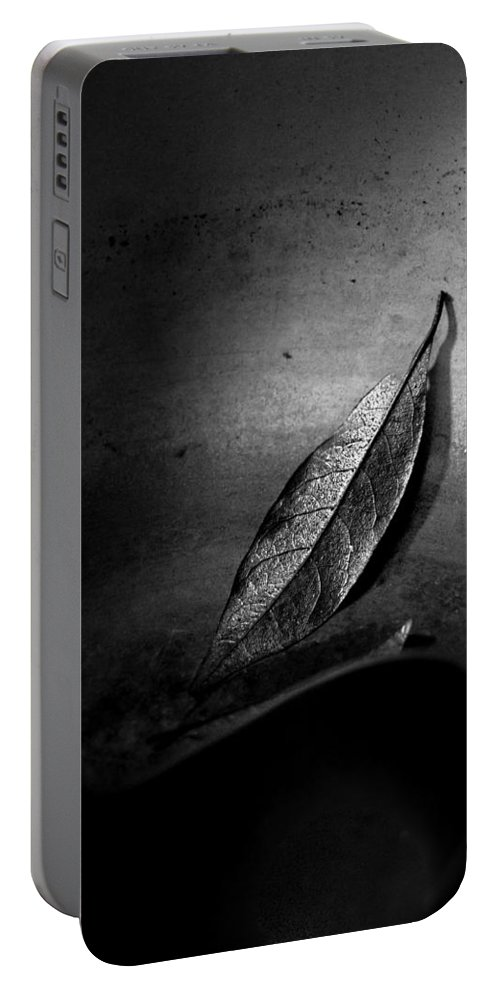 Bay Leaf Portable Battery Charger featuring the photograph Soup Kitchen by Bob Orsillo