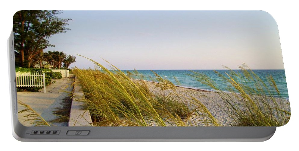 South Portable Battery Charger featuring the photograph South Florida Living by Cynthia Guinn