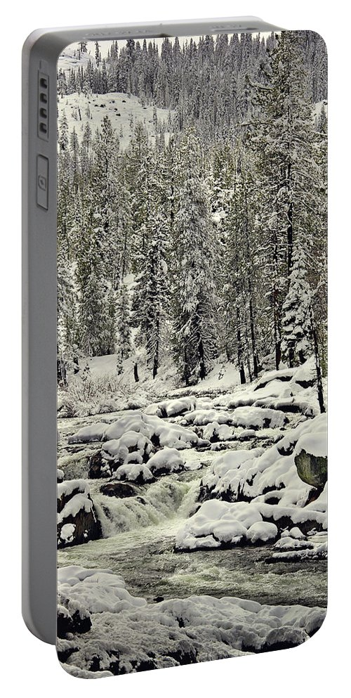 Sierra's Portable Battery Charger featuring the photograph South Yuba River by Shawn McMillan