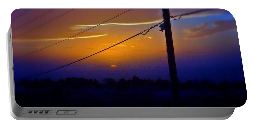Sky Portable Battery Charger featuring the photograph Southern Sky by Sarah Jane Thompson