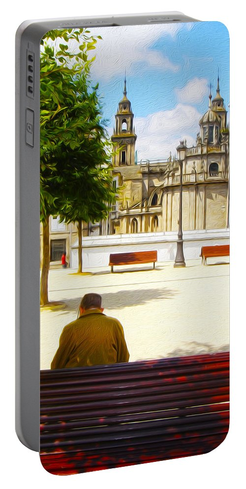 Spain Portable Battery Charger featuring the photograph Spain Series 06 by Carlos Diaz