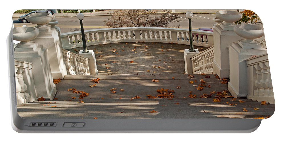 Tacoma Washington Portable Battery Charger featuring the photograph Spanish Steps by Tikvah's Hope