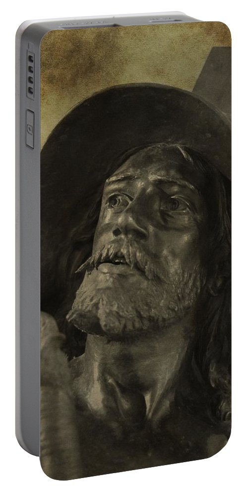 Spartacus Portable Battery Charger featuring the photograph Spartacus by Dan Sproul