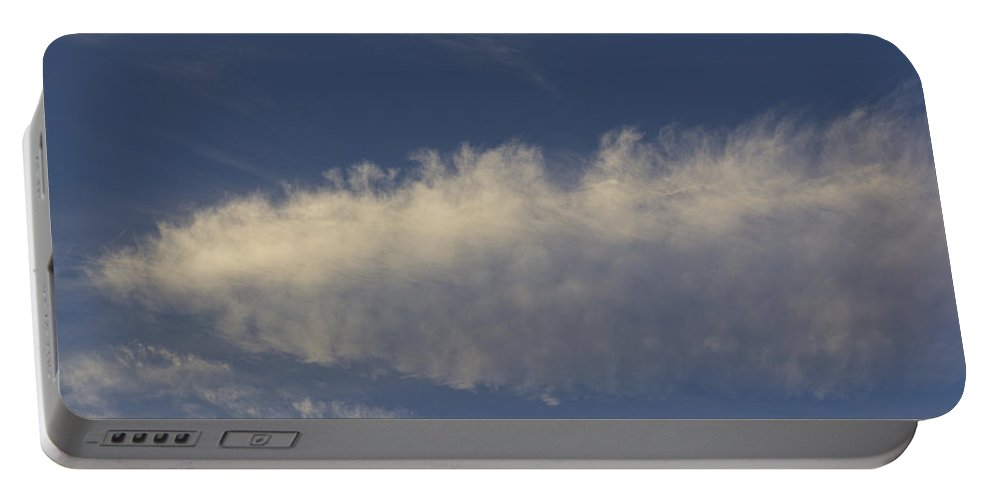 Swirling Clouds Portable Battery Charger featuring the photograph Spear Cloud by David Pyatt