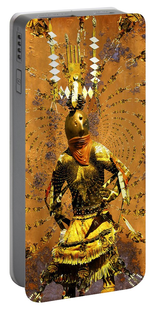 Kachina Portable Battery Charger featuring the photograph Spirit Dance by Kurt Van Wagner
