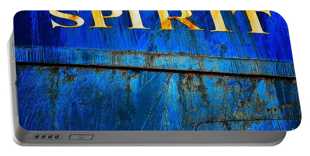 Abstract Portable Battery Charger featuring the photograph Spirit by Lauren Leigh Hunter Fine Art Photography