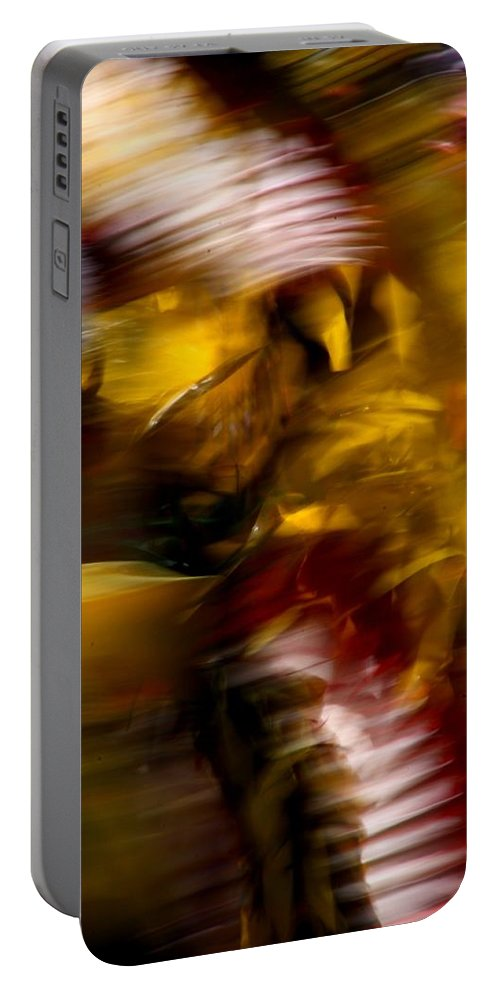 Pow Wow Portable Battery Charger featuring the photograph Spirits 6 by Joe Kozlowski