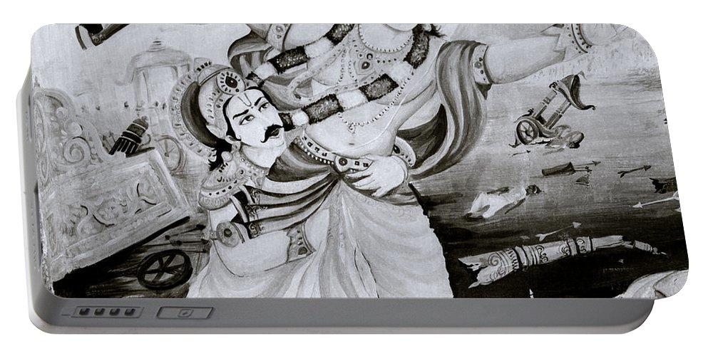 Spirituality Portable Battery Charger featuring the photograph Urban Faith by Shaun Higson