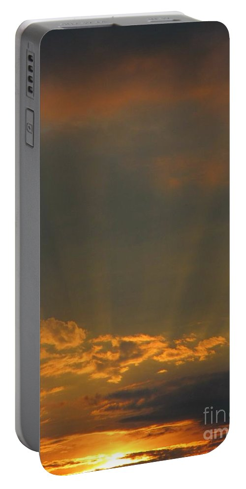 Sky Prints Portable Battery Charger featuring the photograph Spirituality In Nature by John Malone