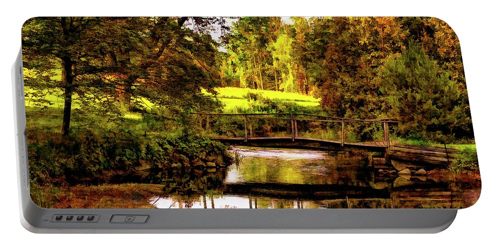 Landscape Portable Battery Charger featuring the photograph Spring Becomes The Summer II by Steve Harrington