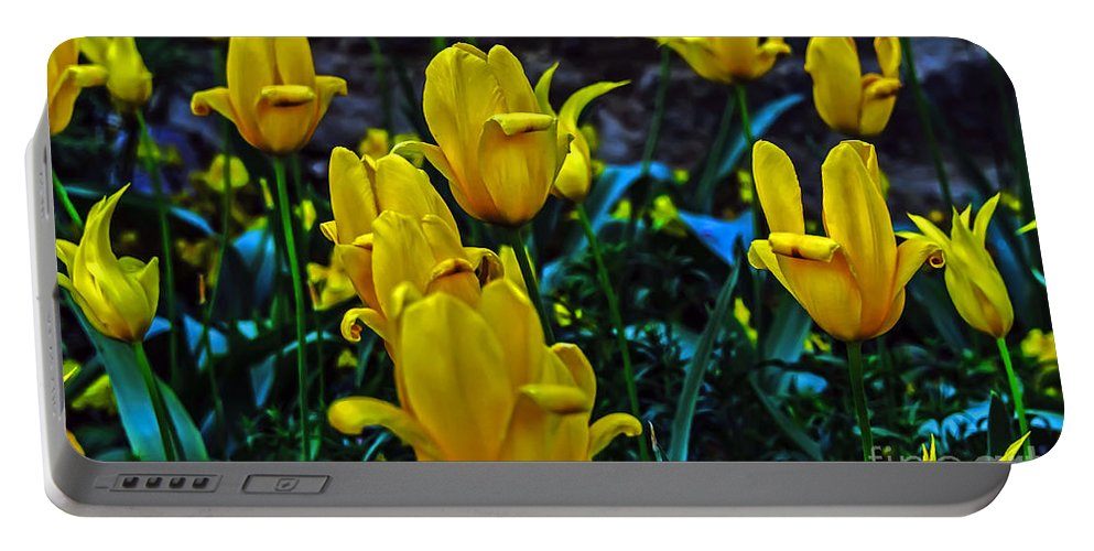 Travel Portable Battery Charger featuring the photograph Spring Blooms by Elvis Vaughn