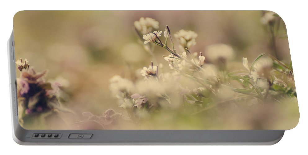 Flower Portable Battery Charger featuring the photograph Spring Blossoms by Heather Applegate
