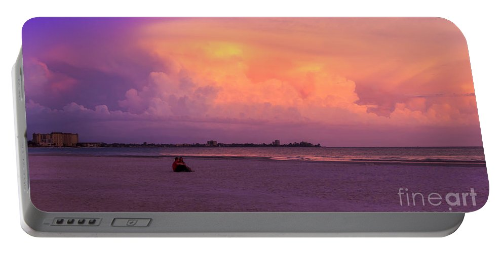 Spring Break Portable Battery Charger featuring the photograph Spring Break by Marvin Spates