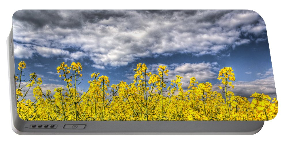 Crop Portable Battery Charger featuring the photograph Springtime In England by David Pyatt