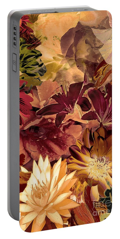 Springtime Portable Battery Charger featuring the digital art Springtime Melody Two by Paul Gentille