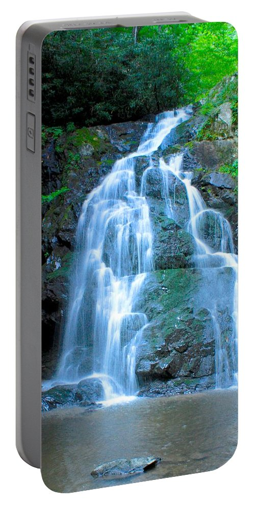 Smoky Mountains Portable Battery Charger featuring the photograph Spruce Flats Orchestra by Nunweiler Photography