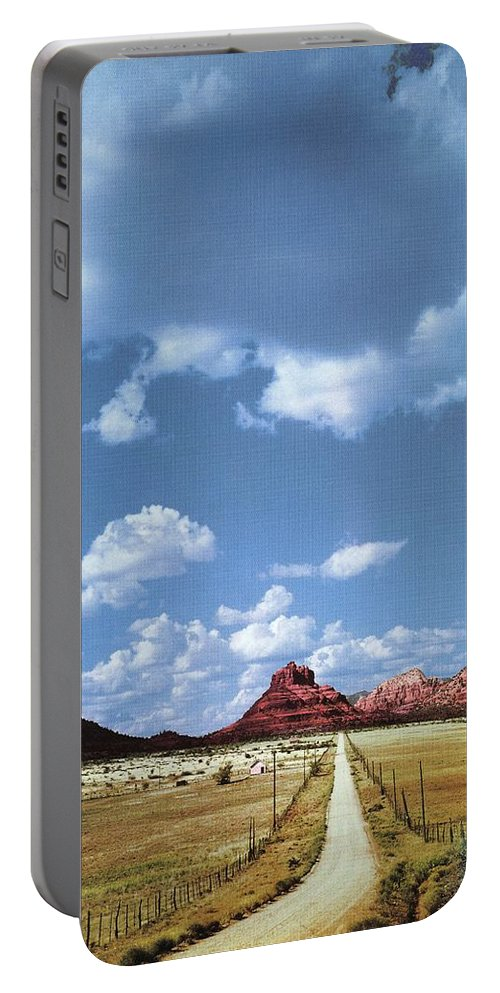 Arizona Portable Battery Charger featuring the photograph Highway 179 by Bob Bradshaw
