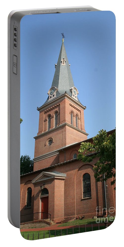 Church Portable Battery Charger featuring the photograph St. Anne's Episcopal Church by Christiane Schulze Art And Photography