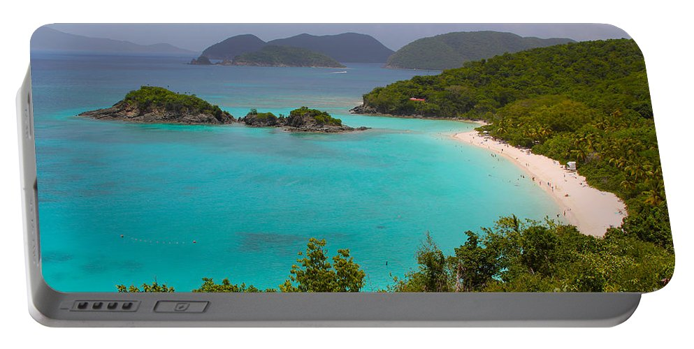 Baths Portable Battery Charger featuring the photograph St Johns by Carey Chen